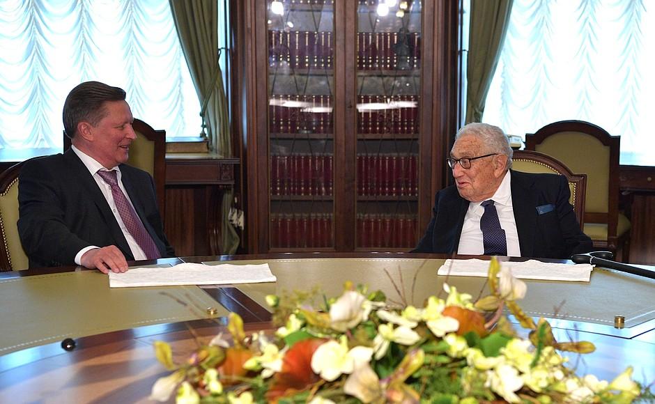 Ivanov and Kissinger